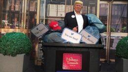Трампа уже выбросили из музея восковых фигур